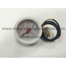 HIDROMETRO 0/6 BAR CAP.500