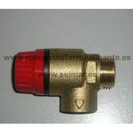 "VALV.SEGURIDAD M-H 1/2"" 3bar"